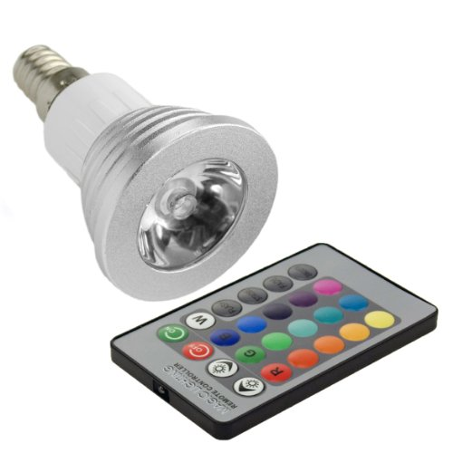 XCSOURCE® RGB Top LED Bulb Spot Light Changing