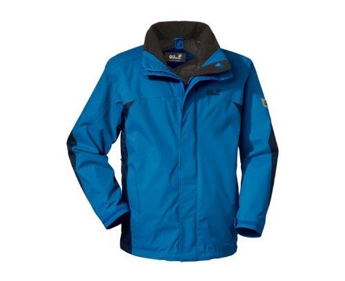 JACK WOLFSKIN Onyx Men's Jacket, Blue, M