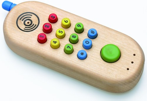 Wooden Cell Phone by Original Toy Company - 1