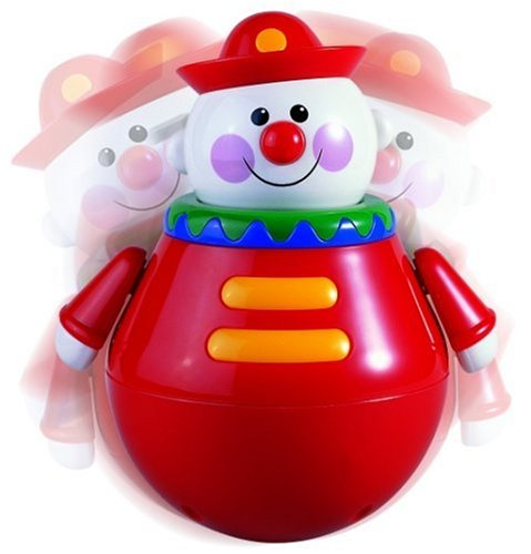 Tolo Toys Roly Poly Chiming Clown