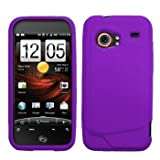 Purple Silicone Case / Skin / Cover for HTC Droid Incredible ADR6300