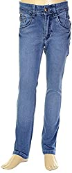 HAVOC Boys' 35071 Slim Fit Jeans (Blue, Size 34 - 9 to 10 Years)