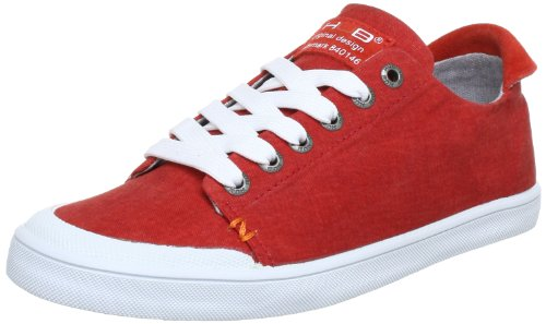 Hub Brooklyn-W C Trainers Womens Red Rot (red/wht 24) Size: 7 (41 EU)