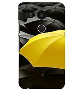 PRINTSHOPPII UMBRELLA PATTERN Back Case Cover for LG Google Nexus 5X::LG Google Nexus 5X (2nd Gen)::Google Nexus 5X::Nexus 5X (2015)