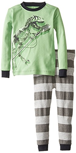 Green Cotton Pajamas back-992306