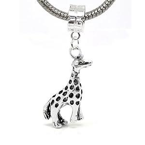 giraffe animal charm dangle bead for snake