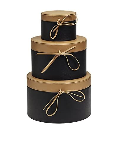 Braid Concept Box Set van 3 IO2203BT zwart / bruin