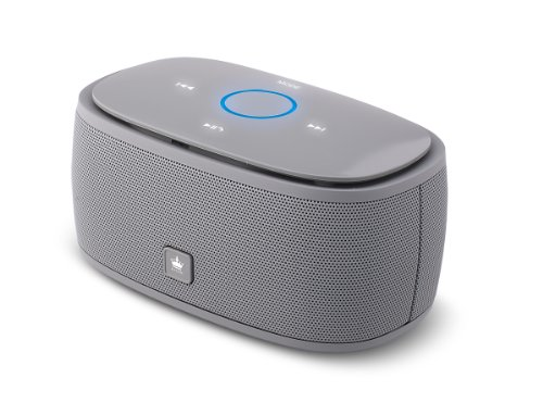 Kingone K5 Bluetooth Speaker With Tf Car Mp3 Player And Handsfree - 360-Degree And Both Of Top & Bottom Surround Sound & Super Bass (Grey)