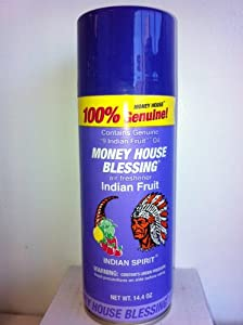Money House Blessing Air Freshener Indian Fruit Spray 14.4 oz.