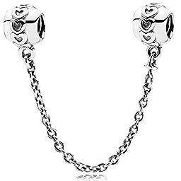 Pandora 791088-05 Love Connection Safety Chain