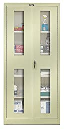 400 Series 2 Door Storage Cabinet Color: Parchment