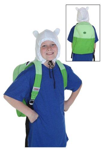 Adventure Time Finn Hooded Backpack (Standard)