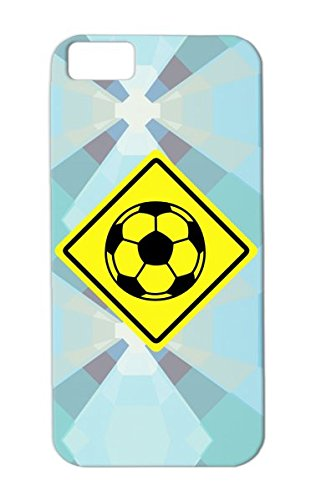Fussball Soccer Shield F2 Shock-Absorbent Crew Warning Fan Traffic Sign Ball Baller Scorer Championship Em I Love Play Soccer Sports Player Football Gate Goal Team Leading Champ Cup Champion Kids Protective Case For Iphone 5C Tpu Yellow front-872580
