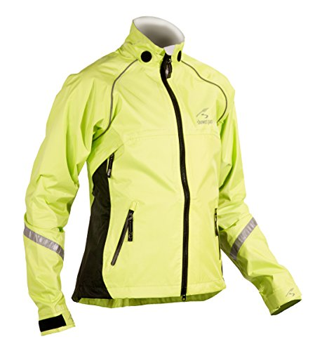 Showers Pass Women's Club Pro Jacket, Neon Yellow, Large
