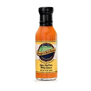 Spicy Buffalo Wing Sauce 12oz by Granite Bay Farms Specialty Foods