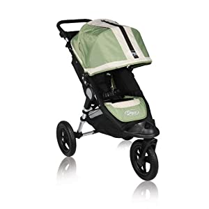 Baby Jogger City Elite Single Stroller - Green Sport