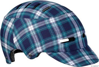 Buy Low Price Lazer Cityzen Helmet: Blue Plaid; MD (BLU2005667029)