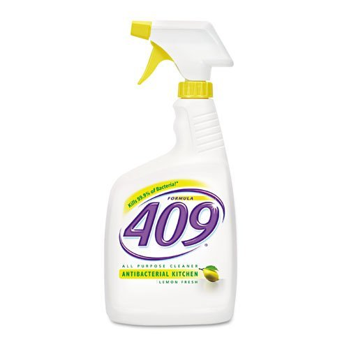 formula-409-antibacterial-all-purpose-cleaner-lemon-32oz-spray-bottle-includes-12-per-case-by-formul