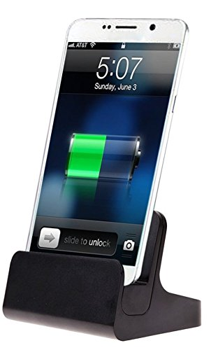 ikazen Sync Data Charging Dock Station Docking Charger USB Cable For iPhone 5 5S 5C SE 6s 6 Plus - Black