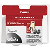 Canon 0615B009 PG-40/CL-41 Cartridges and Glossy Photo Paper Combo Pack