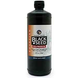 Amazing Herbs Black Seed Oil, 32 ounces