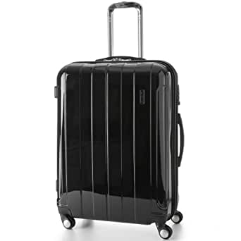 5 cities lightweight hard shell travel luggage suitcase. Black Bedroom Furniture Sets. Home Design Ideas
