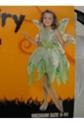 Girls' Deluxe Fairy Costume (Medium)