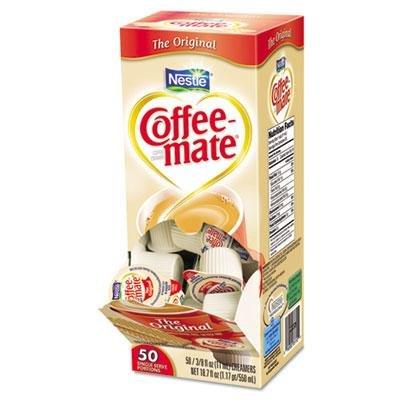Coffee-Mate Original Creamer, .375Oz, 50/Box, Case Of 2 Boxes