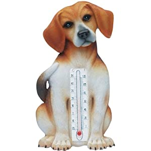 Beagle Dog Indoor Outdoor Thermometer Home Garden Decor