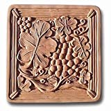 Garden Molds X-GRAPE8013 Grape Arbor Stepping Stone Mold- Pack of 2