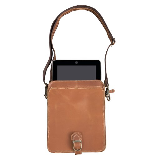 Canyon Outback Leather Niles Canyon Leather Media Holder - Distressed Tan