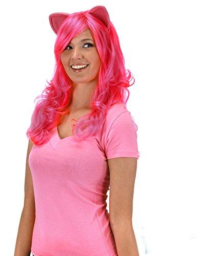 My Little Pony Pinkie Pie Wig with Ears by