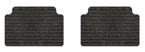 Intro Tech Rhino Rear Custom Fit Auto Floor Mat Black Set