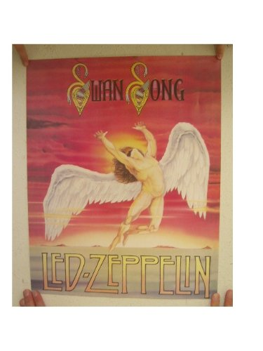 Led Zeppelin Poster Swan Song 16 By 20