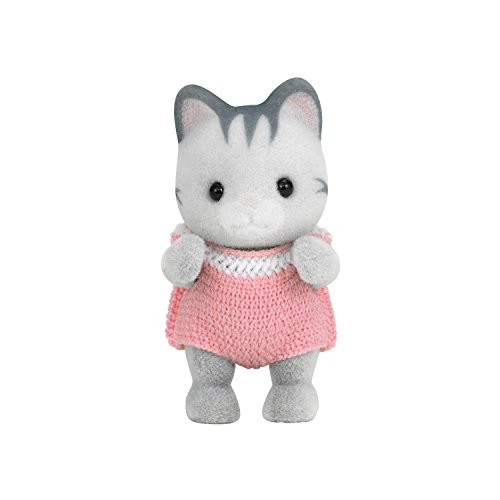 Sylvanian Families baby doll grayish cat gray Irish family cat (japan import) - 1