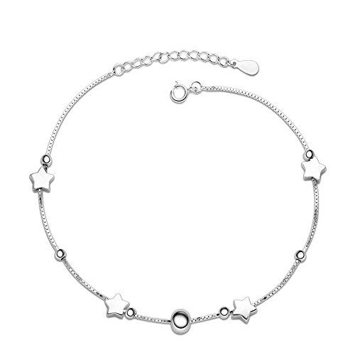 semplice-moda-elegante-bling-bling-argento-pendente-stella-ragazze-donne-ciondolo-cavigliera