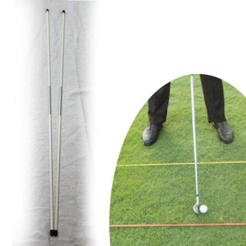 Elixir Golf Training Aids Tour Alignment Stick(White), GTS-W