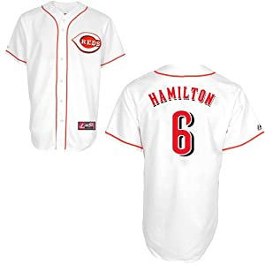Billy Hamilton Cincinnati Reds Majestic Home Jersey
