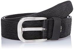 Dandy AW 14 Black Leather Men's Belt (MBLB-310-S)