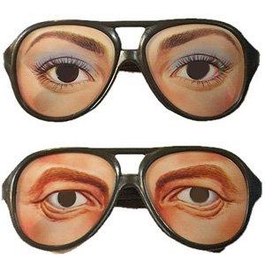 変装メガネ スパイグラス セクシー&ハンサム 2種セット