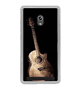 Guitar 2D Hard Polycarbonate Designer Back Case Cover for Asus Zenfone 6 A600CG