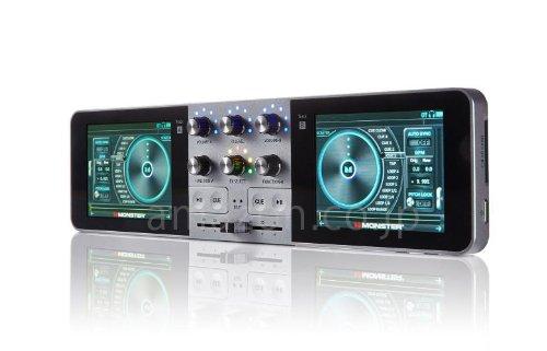 「MONSTER GO-DJ Portable」仙台のベンチャー企業が作った液晶ターンテーブルを搭載したポータブルDJシステム