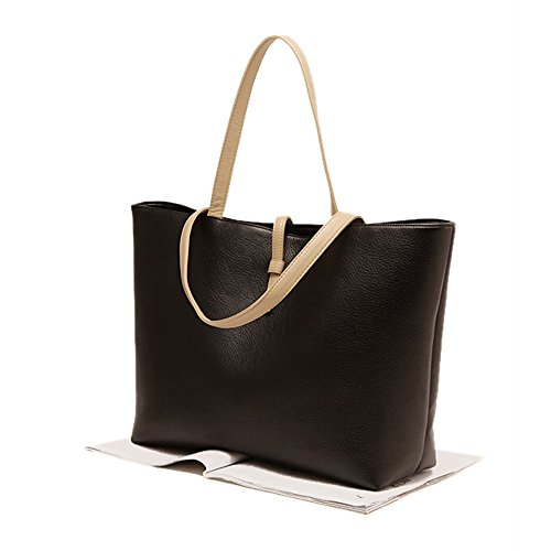 STONG Fashion Leather Bags Messenger Shoulder Clutch Bag Briefcases Tote School Beach Bags For Women