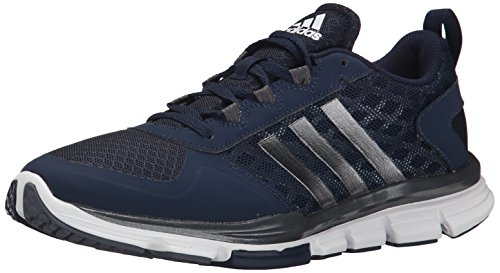 adidas Performance Men's Speed Trainer 2 Training Shoe, Collegiate Navy/Carbon Metallic/Tech Grey/Metallic, 10 M US (Adidas Shoes Men Blue compare prices)