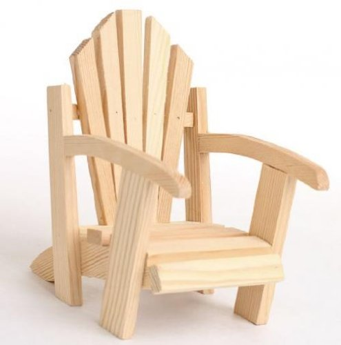 Mini decorative adirondack chairs