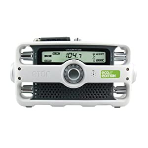 Etón VOICELINK FR1000 ECO Edition Clock Radio (White)