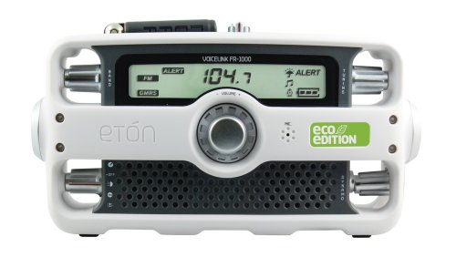 Etn VOICELINK FR1000 ECO Edition Clock Radio (White)