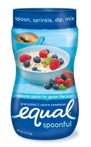 Equal Spoonful Sweetener, 4-Ounce Jars (Pack of 8)