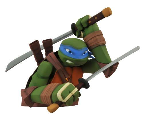 Diamond Select Toys Teenage Mutant Ninja Turtles: Leonardo Bust Bank