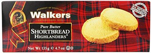 Walkers Shortbread Highlanders, 4.7 oz. Box (Walkers Bread compare prices)
